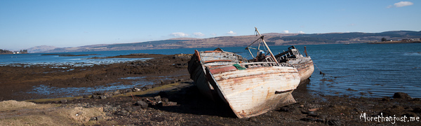 Boat wreck Mull 0313
